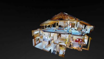 Freistehendes 1-2 Familienhaus in Gross-Bieberau +VERKAUFT+ 3D Model