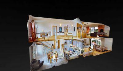 Freistehendes Einfamilienhaus in Biebesheim am Rhein 3D Model
