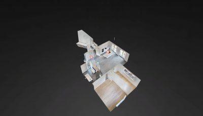 Neubau 5-Zimmer-Maisonette-Eigentumswohnung in Alsbach/Bergstr. 3D Model