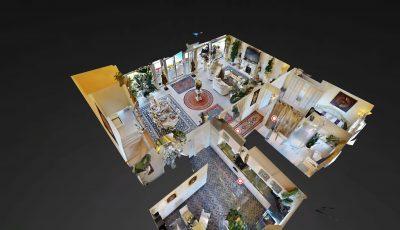Exklusive Penthouse-Maisonette-Eigentumswohnung in Groß-Gerau 3D Model