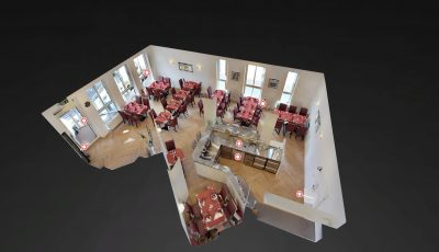 Restaurant in Griesheim 3D Model