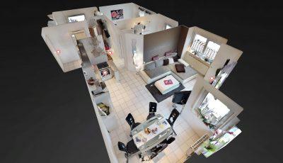 3-Zimmer-Eigentumswohnung mit Balkon in Otzberg +VERKAUFT+ 3D Model